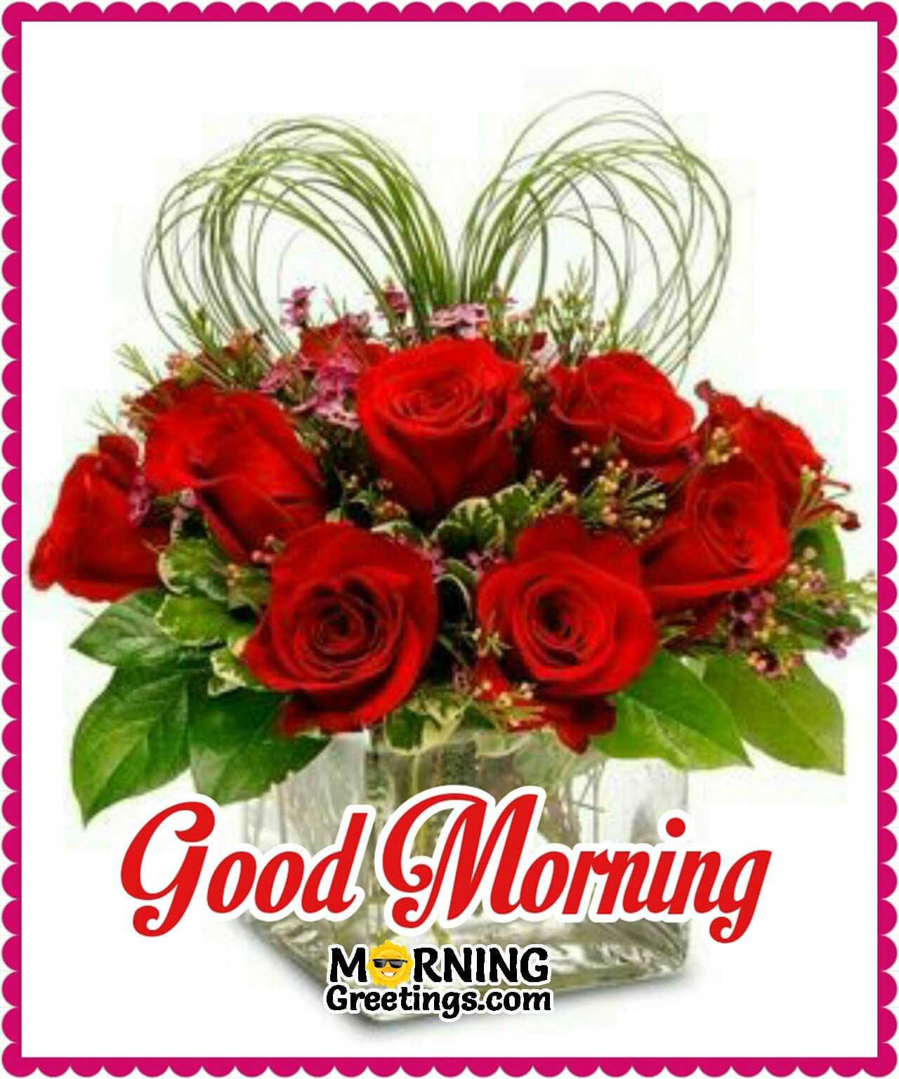 10 Beautiful Good Morning Pictures With Bouquet Morning Greetings