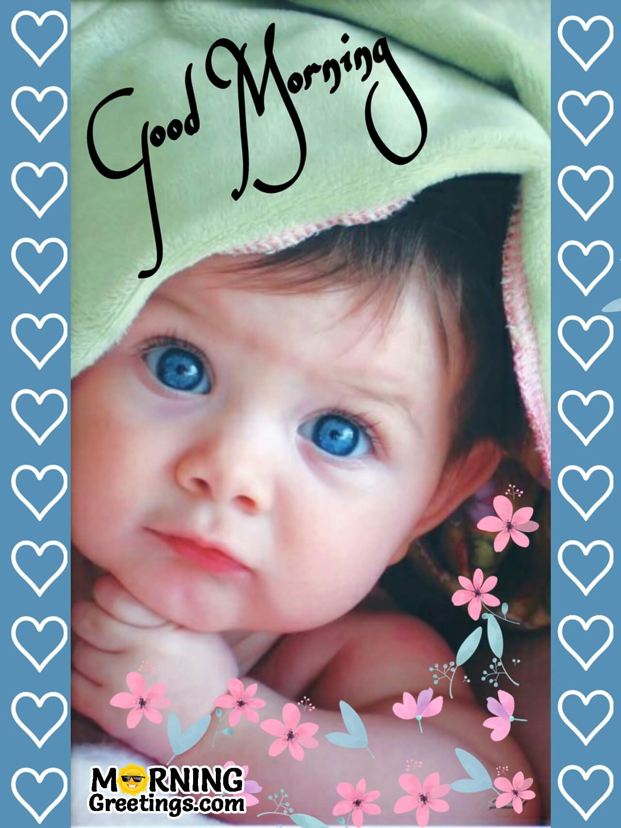 15 Best Good Morning Images Of Babies Morning Greetings Morning Quotes And Wishes Images