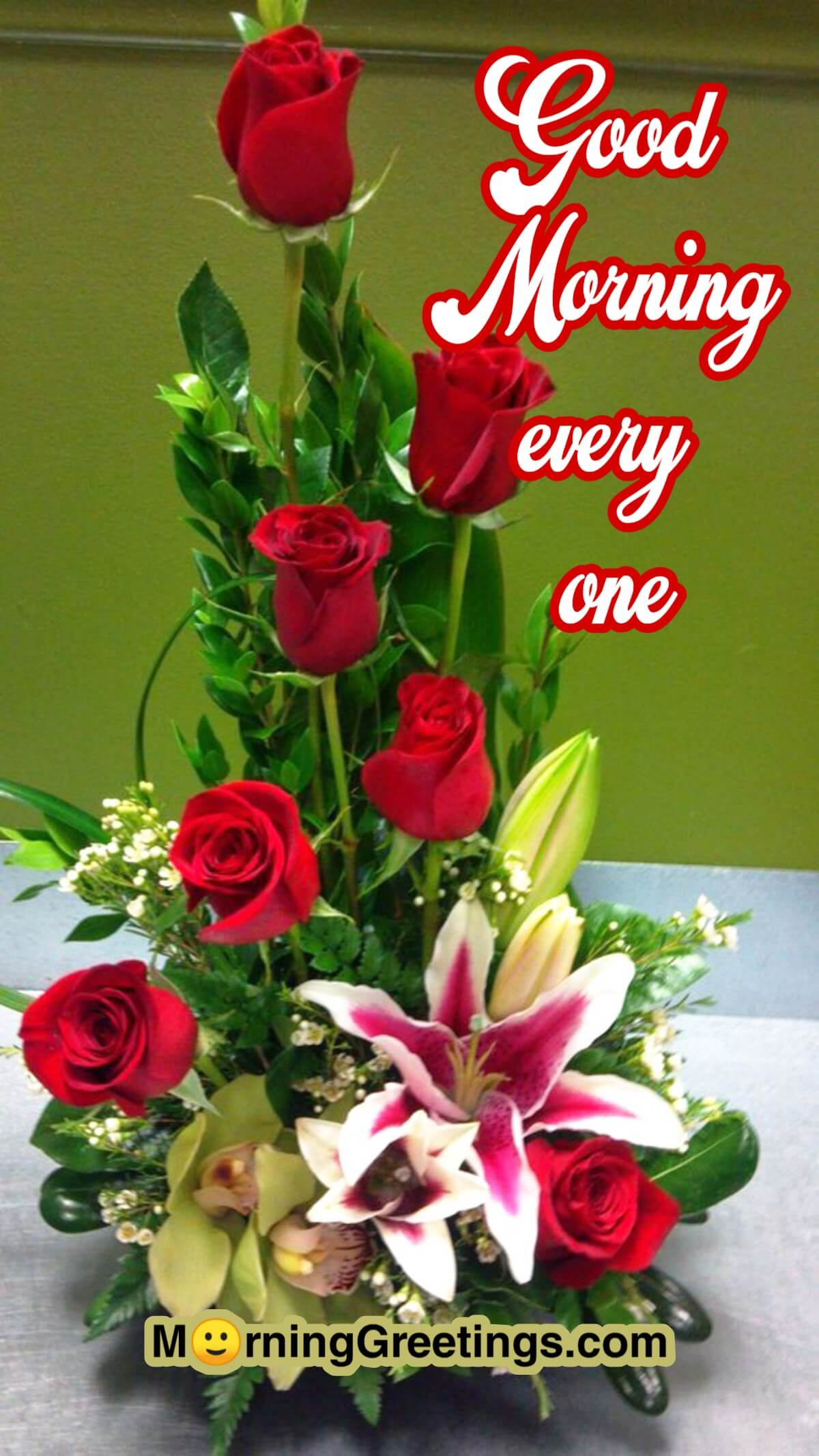 20 Morning Greeting With Bouquet Morning Greetings Morning Quotes And Wishes Images