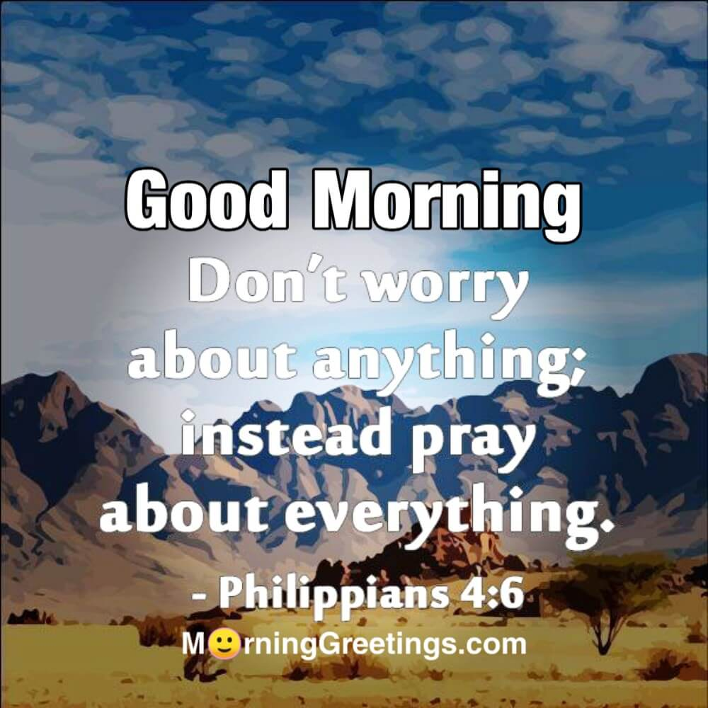 20 Beautiful Bible Verses For You   Morning Greetings – Morning ...