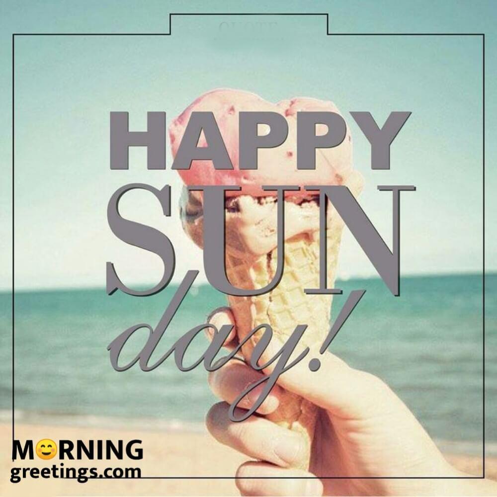 20 Wonderful Happy Sunday Morning Images   Morning Greetings ...