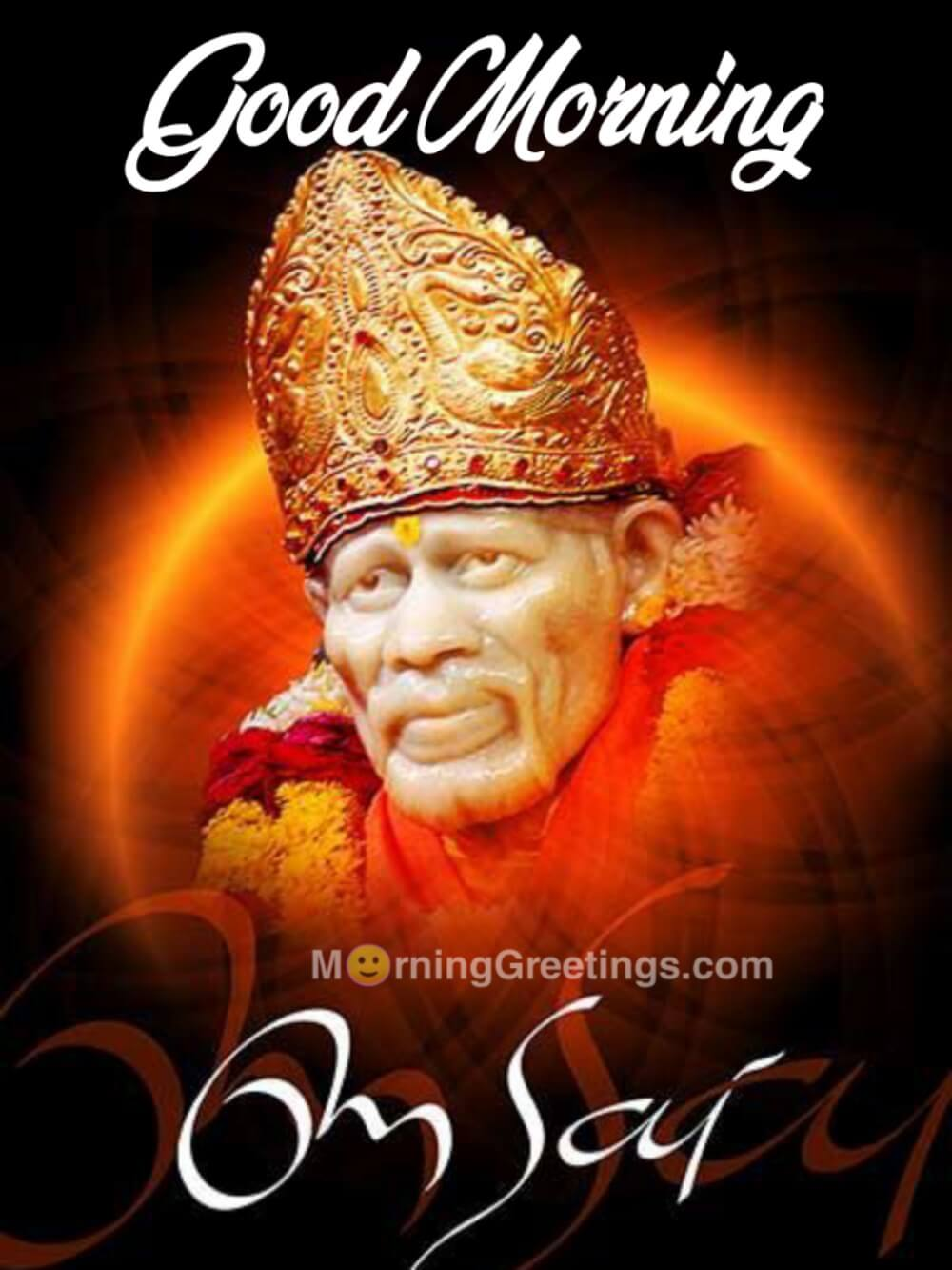 32 Best Sai Baba Morning Greetings Morning Greetings Morning Quotes And Wishes Images