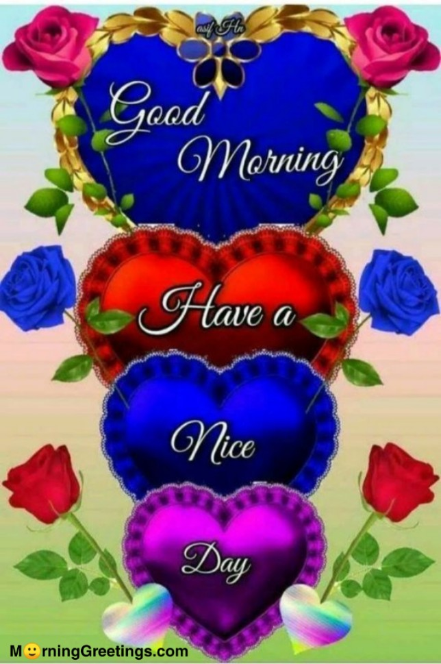 25 Beautiful Good Morning Heart Pictures Morning Greetings Morning Wishes