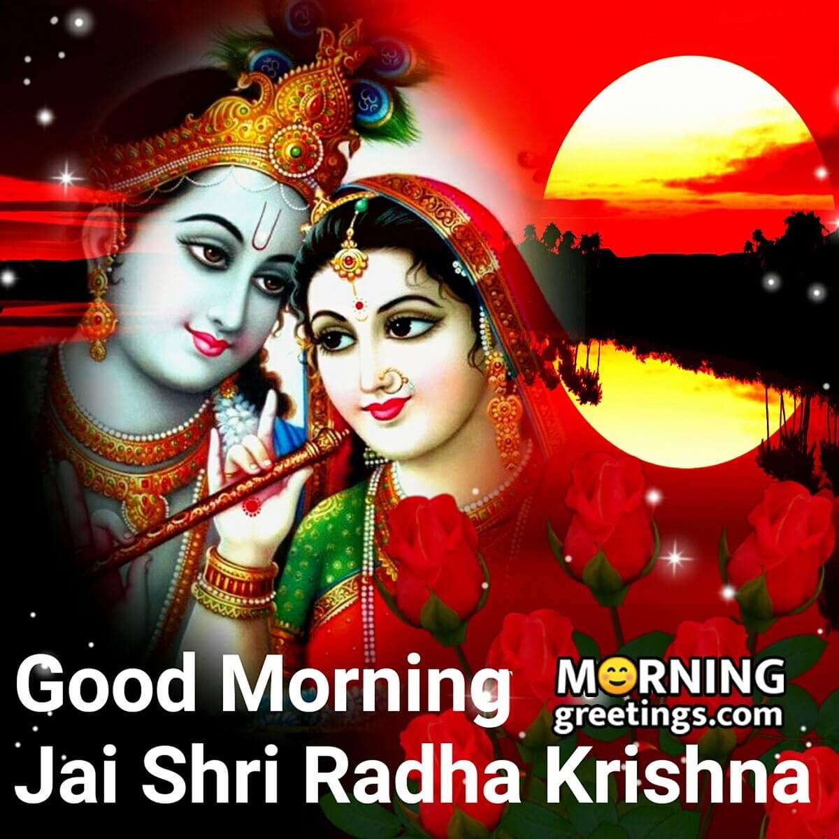 30 Good Morning Lovely Radha Krishna ...